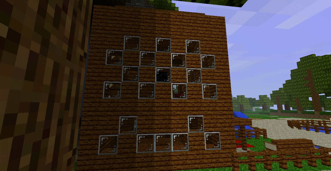 Simple minecraft house minecraft project for Minimalist house minecraft