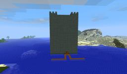 Mid water castle COMPLETED!!!! Minecraft Map & Project