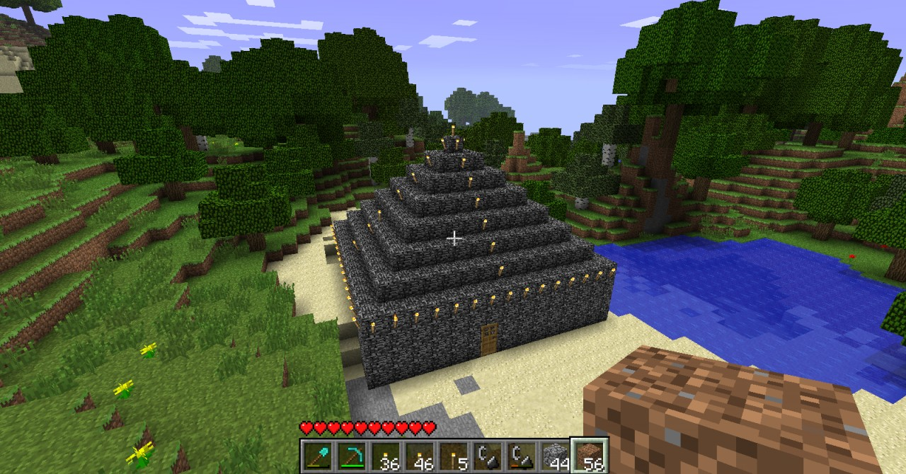 Minecraft Bedrock House Bedrock house minecraft