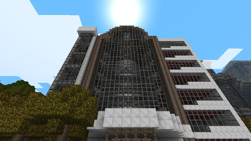 Friendlytarget Luxury Hotel Minecraft Project