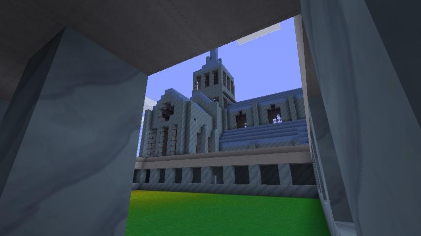 Mont St. Michel Day 2 Cortyard View