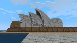 Sydney Opera House Minecraft Project