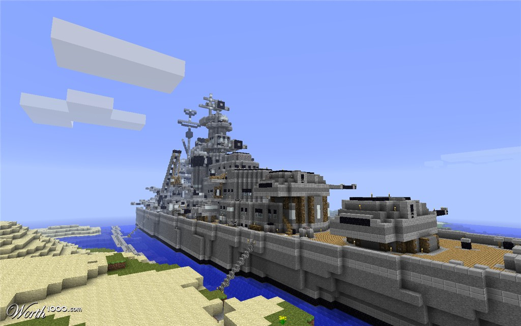Bismarck Minecraft Project