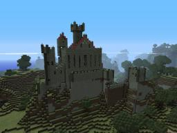 Mountain Castle (chateau v6) Minecraft Map & Project