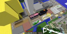 Minecraft Town/City Minecraft Map & Project