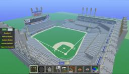 Cleveland's Progressive Field (Baseball Field) Minecraft Project