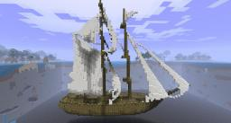 Sloop of War - Large Ship