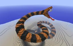Attacking Snake Minecraft Project