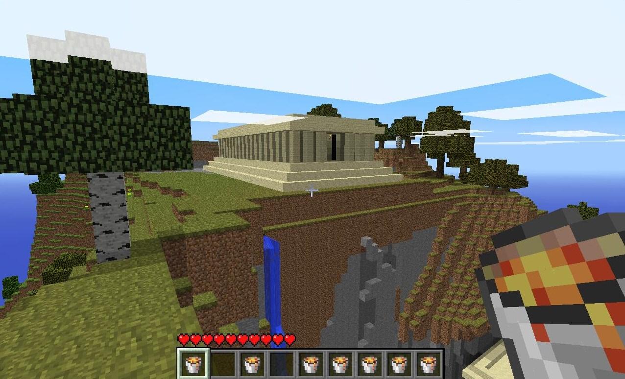 A small temple I built