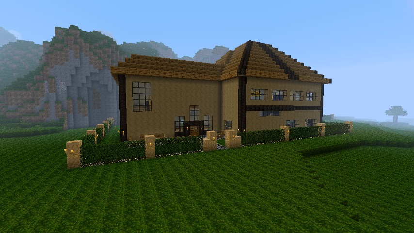 Western Style Home Minecraft Project