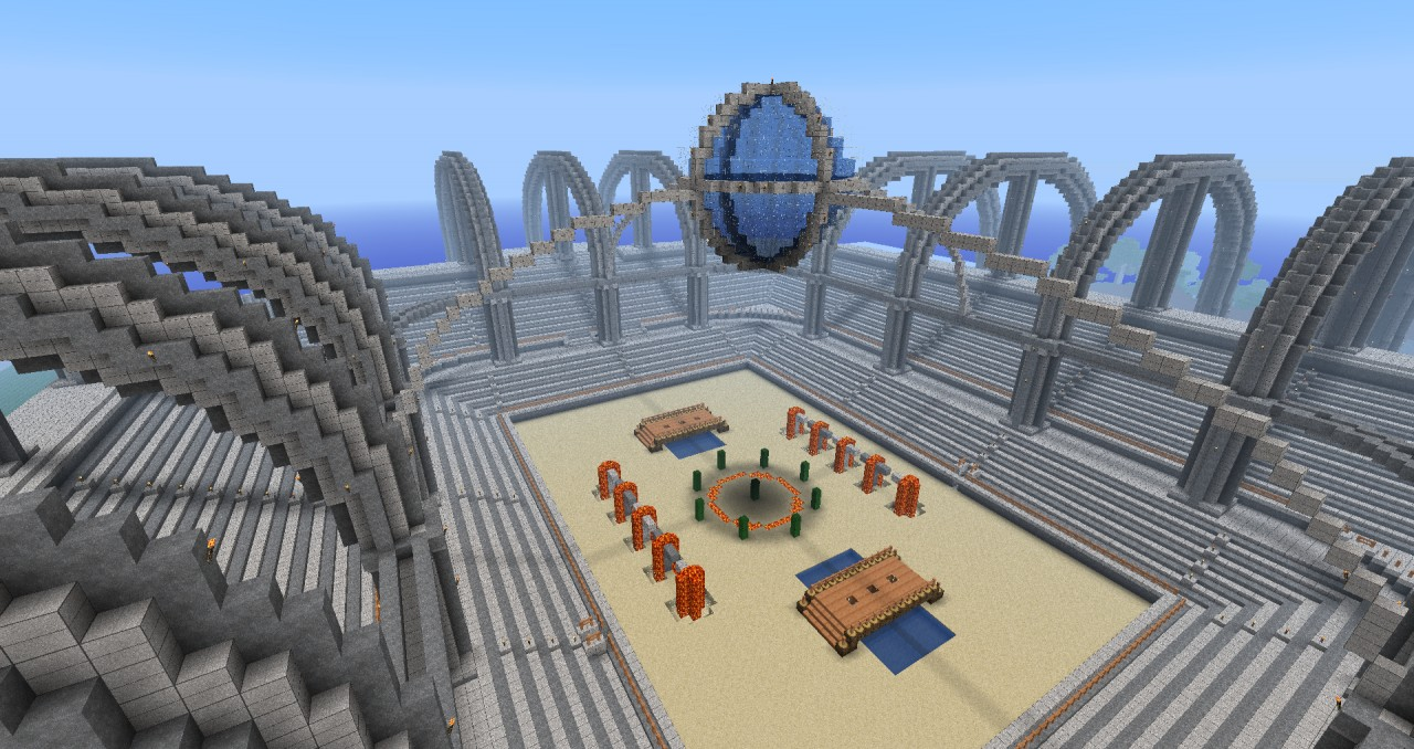 craft a map in minecraft with Pvp Arena on 5560860489 in addition Babylon 5 Space Station together with Sandstone Tower A Camelcraftuk Timelapse besides Map additionally Image De Maison Moderne Dans Minecraft.