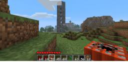 the destruction of a zombie tower Minecraft Map & Project