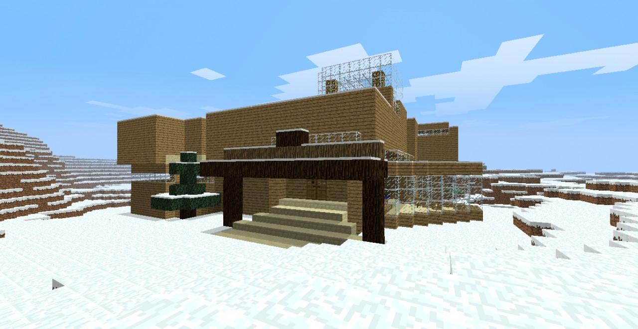 20110629_215435_129094 Winter Minecraft House Design on ponyville house, terraria winter house, cats winter house, cartoon winter house, fluttershy's house, the sims 3 winter house, pallet chicken house,