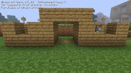 Simple Piston Door Minecraft Map & Project
