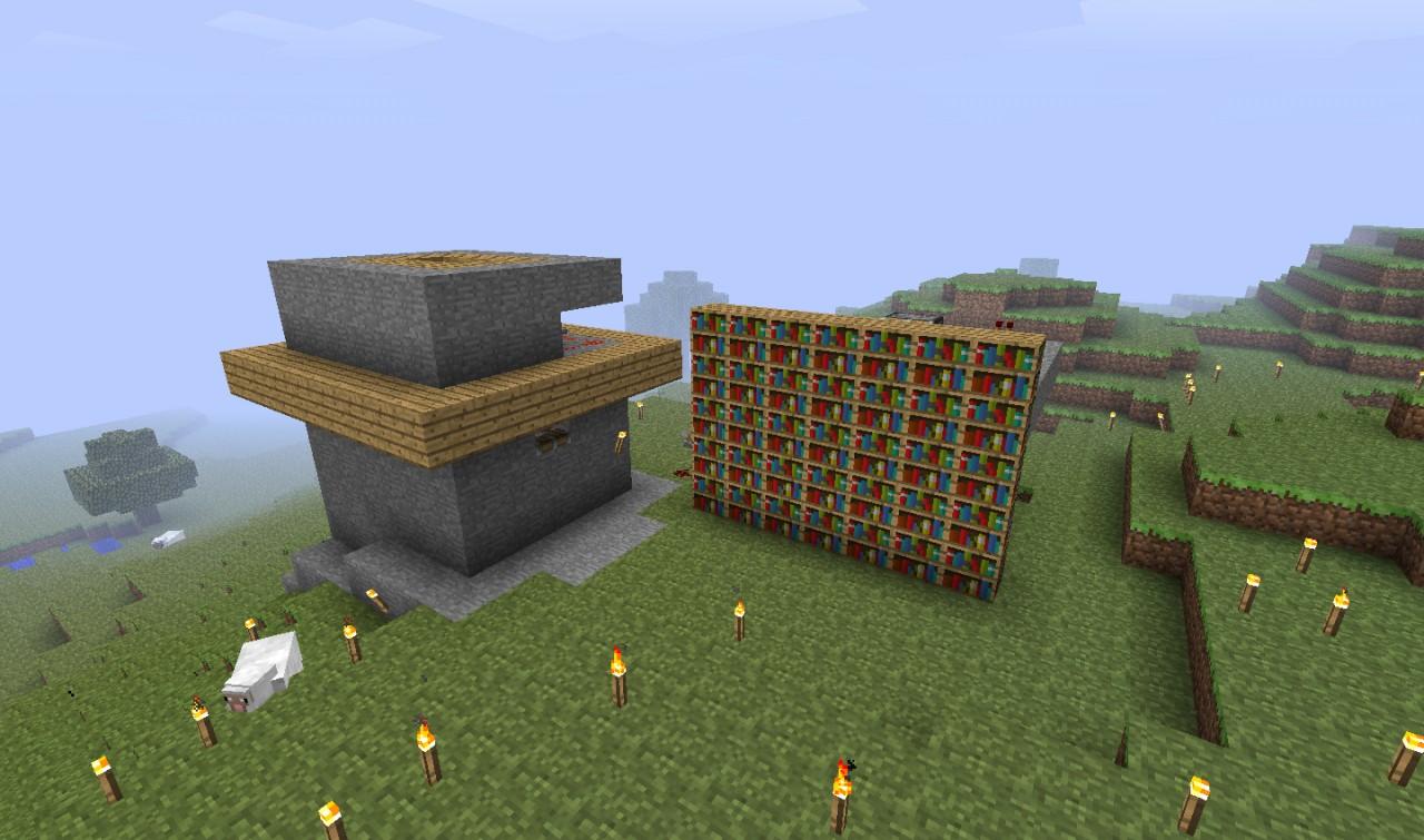 Noob Piston Ideas Minecraft Project