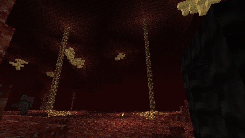 With fleshy netherrack, glorious glowstone, muddy soul sand and black-as-death obsidian, the Nether has never looked better!