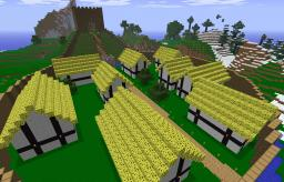 My Motte & Bailey Minecraft Map & Project