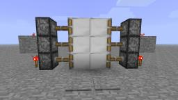 Most Compact piston door ~ Video Tutorial Minecraft Map & Project