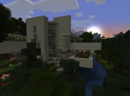 Fallingwater - w/ Guest House Minecraft Map & Project