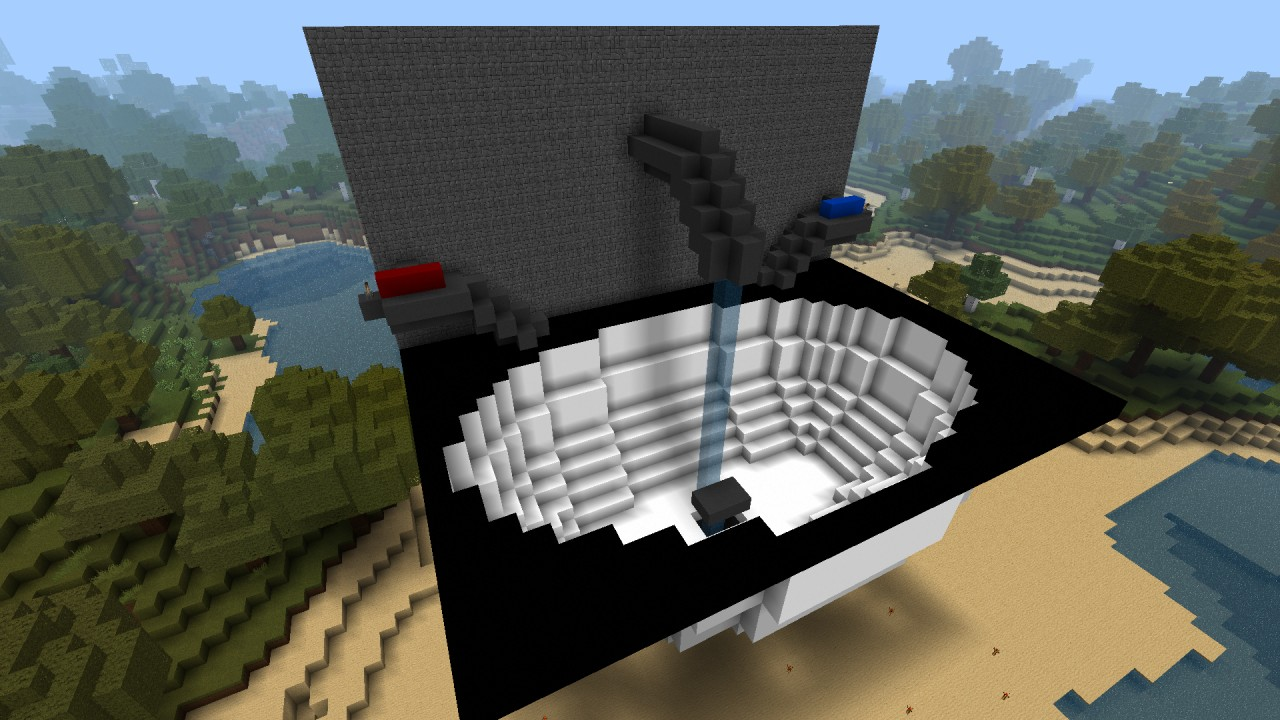 Functional Sink Minecraft Project