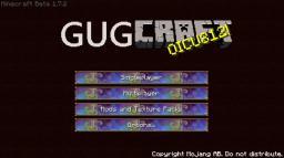 GugCraft 1.7.2 Minecraft