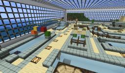 the Sandy Winds - Minigolf Course With a Café Minecraft