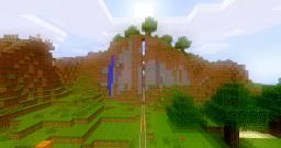 Piston's Big Mountain (mega door :p) Minecraft Map & Project