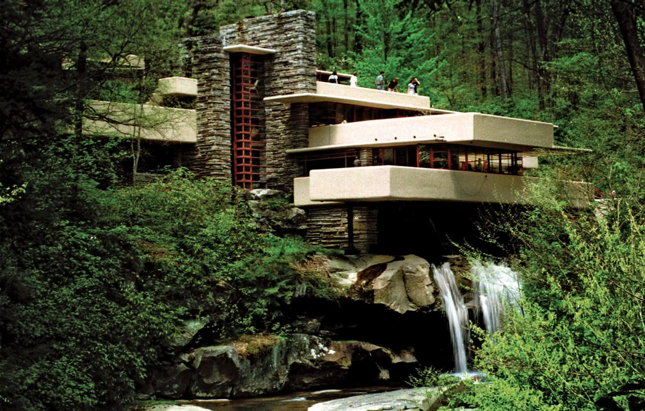 Fallingwater W Guest House Minecraft Project