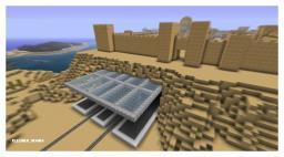 Desert Train Station Minecraft Map & Project