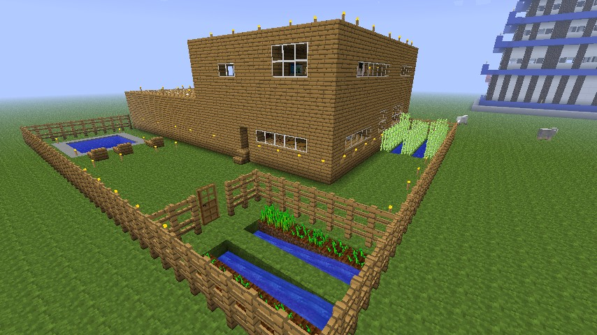 House and backyard Minecraft Project on Backyard Ideas For Minecraft id=61984