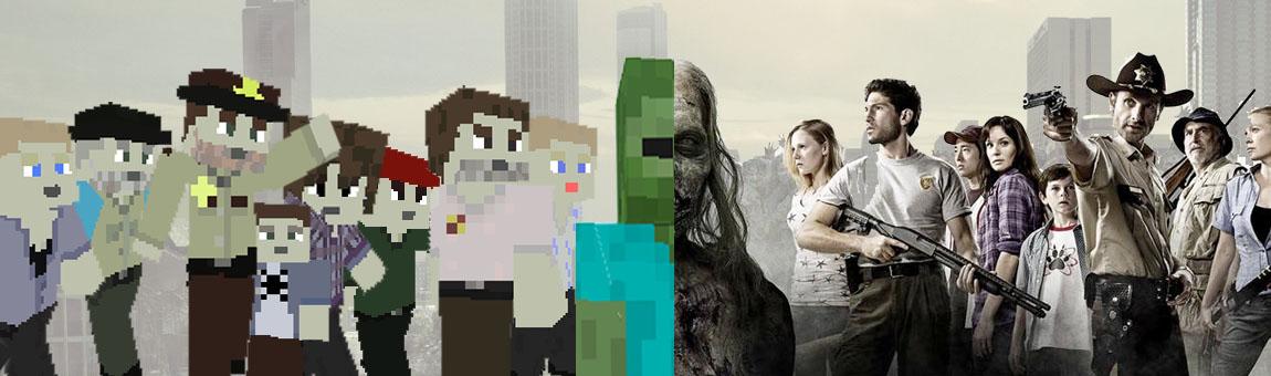 Майнкрафт The Walking Dead