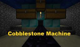 Infinite Cobblestone Machine with Pistons Minecraft Project