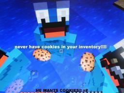 HE WANTS COOKIES! Minecraft Blog Post