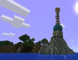 light house / lazer Minecraft Map & Project