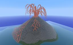 Erupting Volcano Minecraft Map & Project