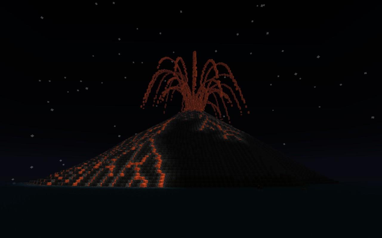 Spawn view at night.