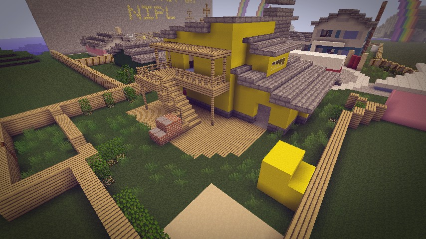Black Ops Nuketown Minecraft Project