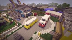 Black Ops: Nuketown Minecraft Map & Project