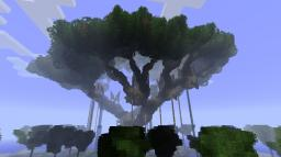 Hometree based Treehouse Minecraft Map & Project