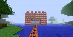 TNT Castle (WOLF SPAWN!) Minecraft