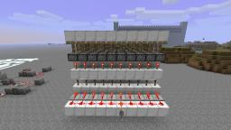 a breakthrough in piston engineering, a new way to power platforms Minecraft Map & Project