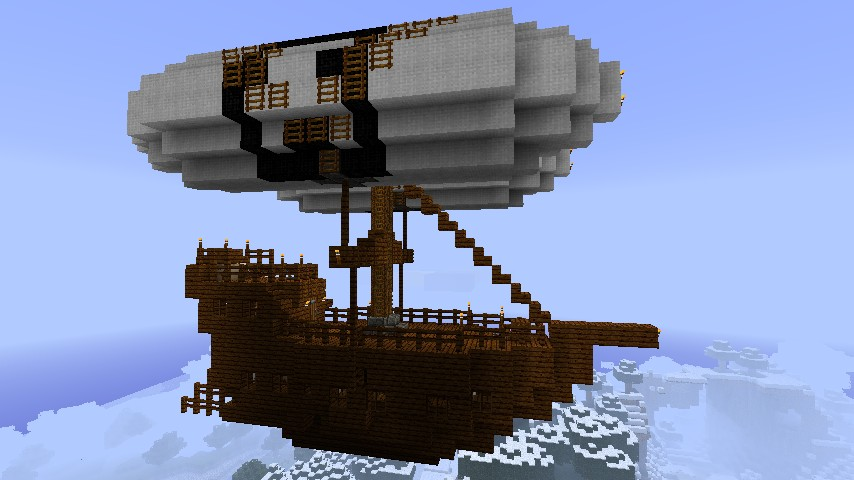 Minecraft Airship Blueprints | www.imgkid.com - The Image ...