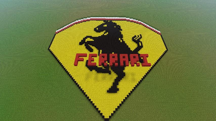 Ferrari Emblemsymbol Minecraft Project