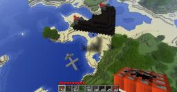 UAV and Stealth Bomber(with BOMBS) Minecraft Map & Project