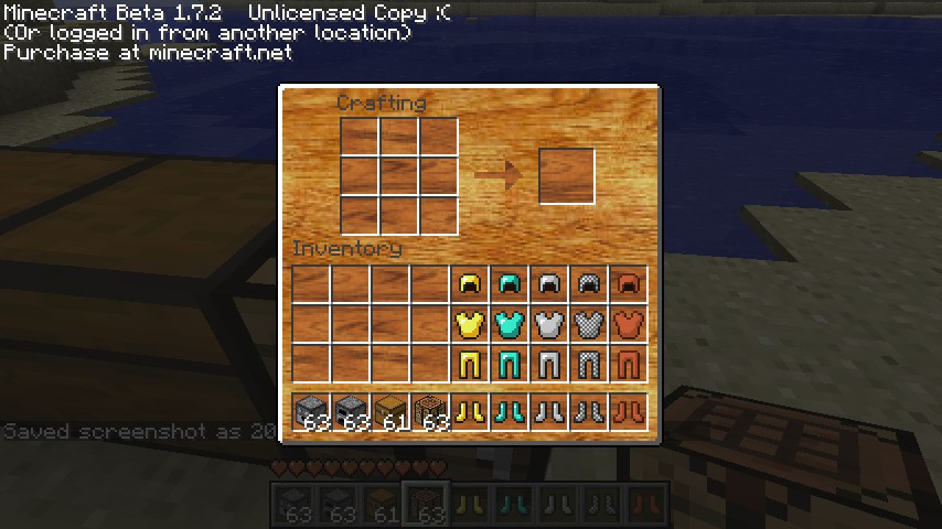 new armor and gui minecraft texture pack