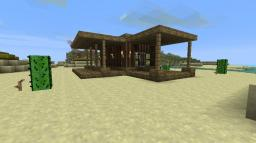 Contemporary Desert House Minecraft Map & Project