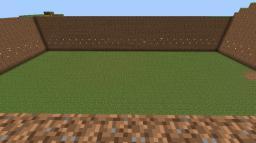 Empty 31x55 Box made of dirt. Minecraft