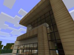 A Contemporary House Minecraft Project