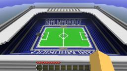 Real Madrid Stadium - Santiago Bernabeu Minecraft Map & Project