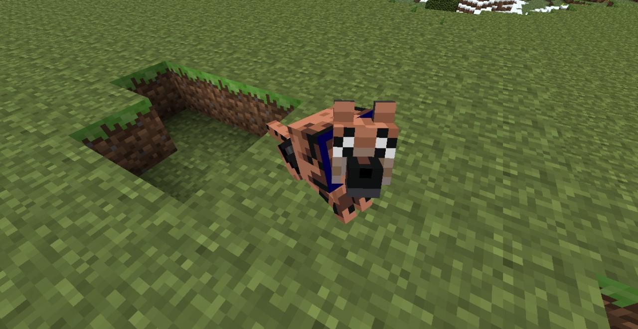 Tamed Wolf Minecraft